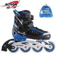 Action ofdynamism 132b child skating shoes adjustable roller skates