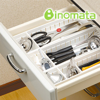 Inomata kitchen utensils drawer kitchen cabinet storage box storage(The minimum order amount $10)