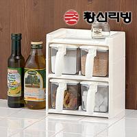 Btlife kitchen seasoning cans set seasoning box transparent castoffs seasoning box(The minimum order amount $10)