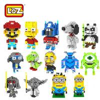 LOZ Diamond Blocks Toy Building Blocks Sets Educational DIY Assemblage Bricks Toys 1 Piece