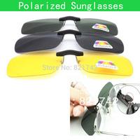 Free Shipping  Fashion Womens Mens Unisex Polarized Sunglasses Small Clip Glasses  Eyewear For Driving Hiking Fishing