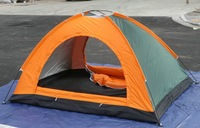 2 - 4 double layer double door outdoor camping gift water-resistant tent more than