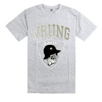 Free shipping 2014 new Wrung Division Summer top men short-sleeve couple T-shirt cartoon cotton men's clothing