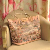 2014 new fashion brown Classic shoulder bag shopping bag women's handbag