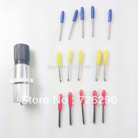 1 Blade holder +15 pc 30 45 60 Roland Blades GCC LiYu Vinyl Cutter Plotter  High Precision Tool Free Shipping