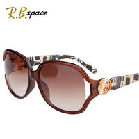 R.B space polarized Fashion women's sun glasses fashion star style big box anti-uv sunglasses vintage sunglasses