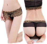 Leopard Lace Women's Underwear Briefs Sexy G-String Panty Thong Panties Women Ladies Underware 11 Colors