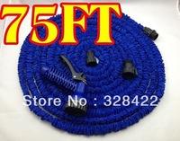 1pcs/lot 75FT Garden water Hose expandable flexible hose Garden hose+ Spary Gun T93