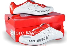 2014 Hot Sale Sidebike  Road Bike Shoes Self-locking Ride Bicycle Shoes Carbon Lightweight  Highway Lock High Quality Goods(China (Mainland))