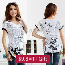 Schwarzes T-Shirt L-XXXL