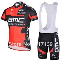 NEW! 2014 BMC Team Cycling Jersey/Cycling Wear/Cycling Clothing short (bib) suit-BMC-2D Free Shipping