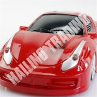 Wall Floor Climbing RC Car Remote Control Toys for Children New 2014 Outdoor Fun & Sports Red