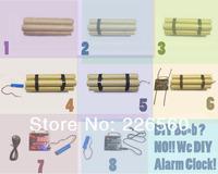 Free Shipping 1Set USB Gadget DIY USB Alarm Clock