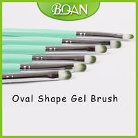 Nail Design Painting Pen Nylon Hair Brush For UV Gel Polish 10pcs / Lot Size 6 Free Shipping