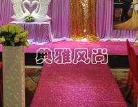 Pearlizing carpet t starlight carpet neon carpet wedding props