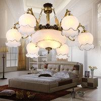 Fashion pendant light iron lamps living room lights restaurant lamp bedroom lamp bronze color pendant light rustic brief