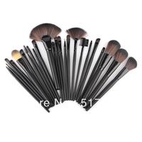 Professional 24 Makeup Brush Set tools Make-up Toiletry Kit Wool Brand Make Up Brush Set Case,Brand Brushes