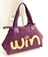 Big Discounts!! New 2014 Europe and American Women Canvas Bag Handbags Messenger bags Shoulder bags  Printing Handbag