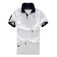 Famous Branded!!! 3 Colors Akaash Champion Pattern Stylish Casual Men's Polo Shirts Slim Fit Top Leisure Tees M-XXXL