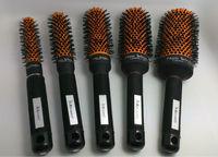 Ceramic  Hair Brush Nano Technology Ceramic + Ionic Round Hair Brush GIC-HB516  Free Shipping