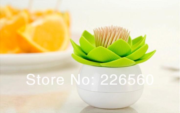 держатель для зубочисток lotus 12pieces -