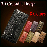 3D Crocodile Design Ladies Purses New 2014 Fashion Brand Genuine Leather Cow Women's Wallets Business Card Holders Money Clips