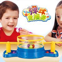 Child puzzle desktop toys plastic pinball boy