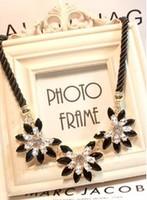 New 2014 Fashion Amazing Crystal Beaded Flower Necklaces & Pendants