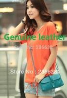 Free shipping - celebrity hand-held shoulder bag delivery women handbags fashion designer backpack girl genuine leather handbag