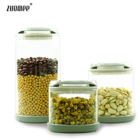 Meters kitchen supplies glass bottle sealed cans sugar food milk cans glass storage jar