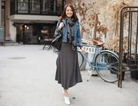 New Female 2013 Autumn Winter Women's One-piece Dress Long-sleeve O-neck Cotton Expansion Plus Size Black S,M, L, XL, 2L,3L, 4XL