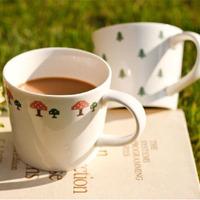 Meters zakka cross stitch ceramic cups ceramic mug cup