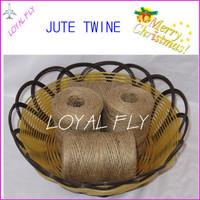 15pcs/lot natural DIY jute twine/cords (1.5mm) 100m/spool jute rope used in garden