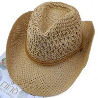 Wholesale 10pcs NEW2014 Trendy Men Summer Straw Hats Women Sun Large Beach Caps COOL Mens Cowboy Cap Womens Spring Big Brim Hat