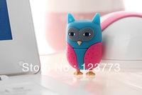 New free shipping cartoon cute owl model usb 2.0 flash drive pen drive stick usb flash memoty