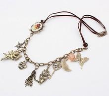 Vintage fashion cupid necklace cxt92717