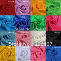 2014 new solid fabric koshibo chiffon fabrics 150cm 16 colors