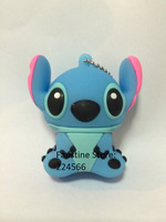Free shipping Stitch cartoon USB Flash drive 2GB 4GB 8GB 16GB 32GB 64GB Pen Drive Memory stick U Disk 2.0 Thumb Drive