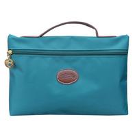 LZ Handbag women's handbag candy color cosmetic bag cute stationery box nylon storage bag Small