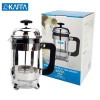Kaffa fashion tea maker coffee pot pressure pot method filter pressure pot tea device 350ml