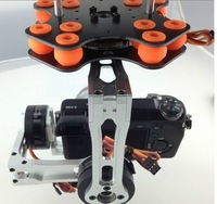 3-Axis Brushless Gimbal Camera Mount Silver w/Alexmos Controller for Sony NEX5/7 FPV Aerial Photography