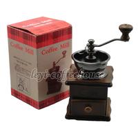 Yami wooden hand grinder coffee bean grinding machine coffee beans