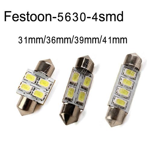 цена на Лампа для чтения - 50 /lot 31 36 39 41 4 SMD 5630 #e