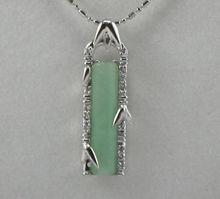 wholesale green jade pendant