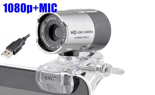 Nuevo 2014 1080p 500w aoni dionysius anc de la correa de la serie hd webcam, cámara digital de envío gratis