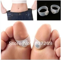 6 PCS Slimming Health Silicon Magnetic Foot Massager Massge relax Toe Ring for Weight Loss Relaxation Care