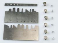 Diy assembling model etched pe specialty tool benchvise plastotype