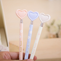 2013 morning light new arrival small fresh ceramic unperfected ballpoint pen love sea blue abp87505 0.38 stationery
