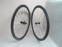 1050g Farsports Superlight 38mm carbon tubular wheels EDhubs ceramic bearings+Sapim Cx-ray spokes