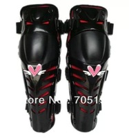 Motocross Protector Motorcycle Motorbike Racing Knee Pads Guard Protective Gear Black&Red TK0760